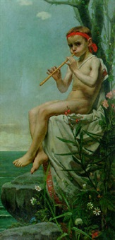 the young apollo by hendrik johannes haverman
