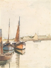 saint vaast la hougue by pierre brette