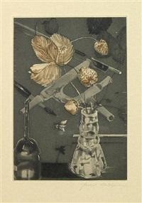 quartet (vol. w/ text by lewis thomas w/ 5 works) by joseph goldyne