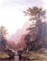 figures in a river valley by james fahey