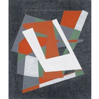 abstract composition - dominant white by george dannatt