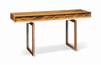 helix console table by david linley