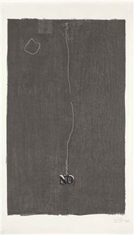 no (universal limited art editions 71) by jasper johns