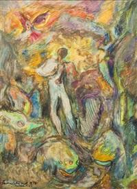 böhmerwald-vision by josef vachal