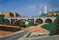 rushmiya bridge, haifa by yacov gabay