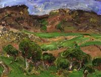 landscape by vicky marshall
