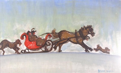 sleigh ride by peter whyte