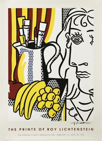 the prints of roy lichtensteinthe los angeles county museum of art by roy lichtenstein