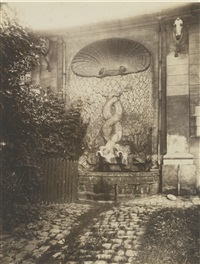 issy - ancien chateau by eugène atget