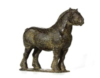 paard by pieter d' hont