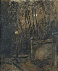 le réverbère by xavier mellery