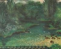le bain des cerfs by hélène marie marguerite perdriat