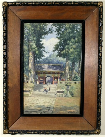 the temple at mount nikko by janse tabuchi
