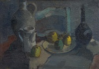 nature morte aux pommes by maurice paul