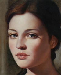 study of angelique by ken hamilton