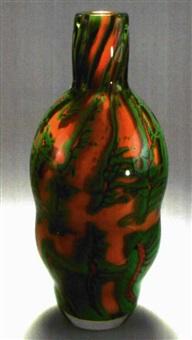 vase labyrinth green by helén krantz