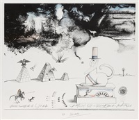 thirteen colonies by saul steinberg