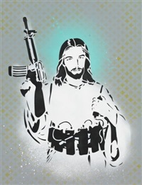 jesus bomber by hutch
