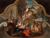 allegorie des friedens by bartholomäus altomonte