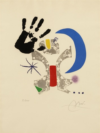 from bonjour max ernst by joan miró