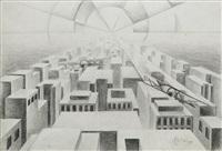 futurismo urbano by tullio crali