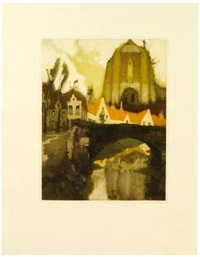 les villages illusoires (bk by émile verhaeren w/24 works + separate suite of 18) by j. van santen