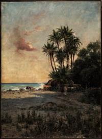 costa africana con figura by alberto grosso
