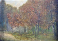 old bay mill road, new jersey by edward taylor snow