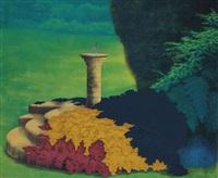 sundial; winter sundial (2 works) by ivor abrahams
