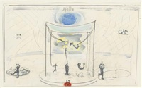 circus acrobats by verne dawson