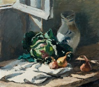 nature morte aux choux by josué gaboriaud