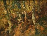 sous-bois by alfred théodore joseph bastien
