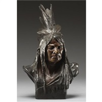 chief crazy horse by theodore baur