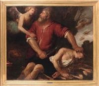 sacrificio di isacco by giovanni andrea de ferrari