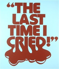 the last time i cried by steven shearer