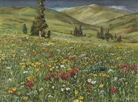 mountain meadow by emily guthrie smith