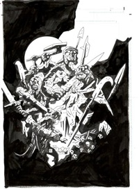 hellboy - the wild hunt 3 (la grande battue) by mike mignola