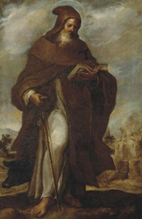 saint anthony abbot by francisco camilo