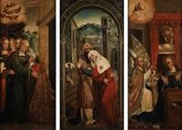 cenas da vida de nossa senhora (triptych) by anonymous (16)