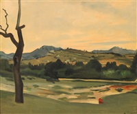 paysage de provence by andré derain