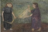 la lavandera by leonidas gambartes