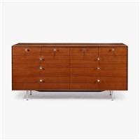 ten drawer thin edge cabinet model 5723 herman george nelson associates - George Nelson Herman Miller Schreibtisch