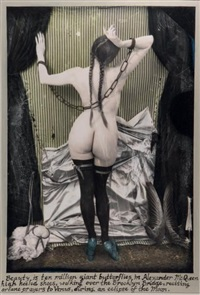 the paris triad: venus in chains by joel-peter witkin