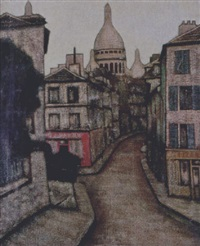 montmartre by jean-yves couliou