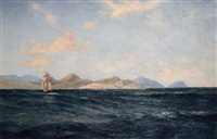 cape of good hope from the sea by cathcart william methven