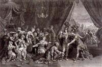 die familie des darius vor alexander dem großen by gérard edelinck