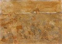 paysage animé de taureaux by antoni camarasa