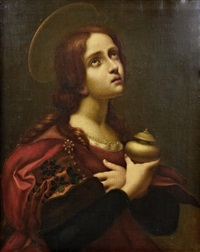 mary magdalene (after carlo dolci) by santi corsi