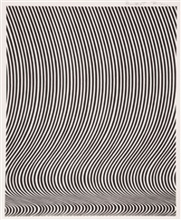 untitled (fall) by bridget riley