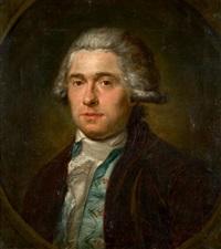 portrait d'homme by jan frans josephus mertens
